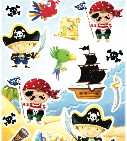 wall stickers pirates upper sturt general store