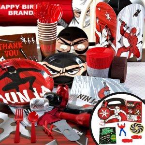 Ninja Warrior Party Supplies