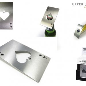 Aces High - Stainless Steel Bottle Opener