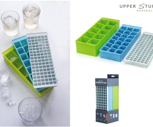 Stackable Ice Trays (Set of 3)