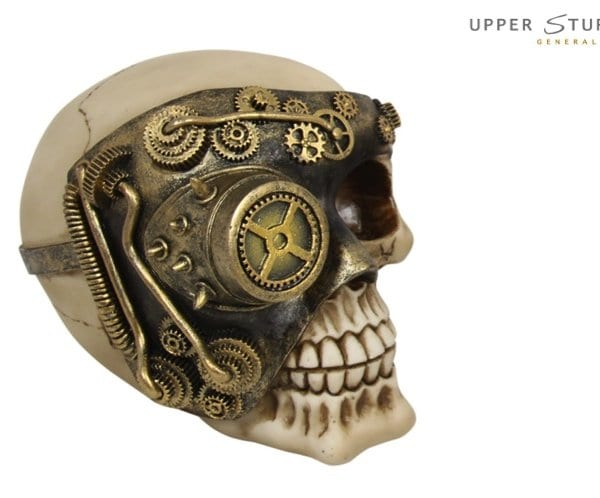 steam punk skull machine 1