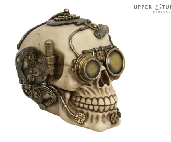 steam punk skull machine 2
