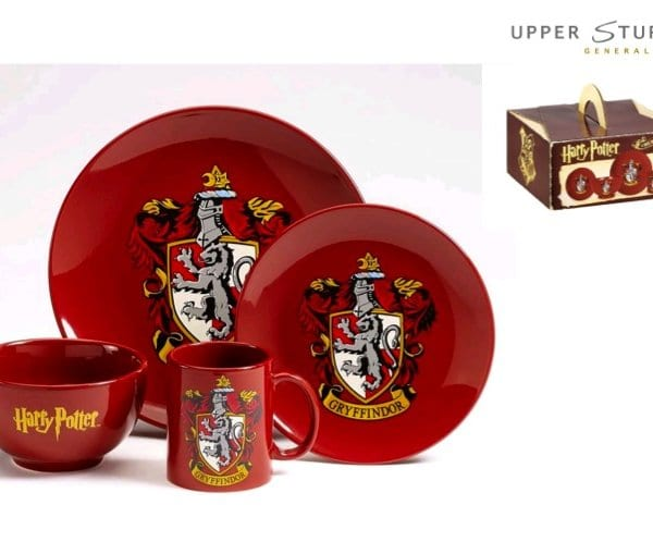 Harry Potter - Gryffindor 4 Piece Ceramic Dinner Set