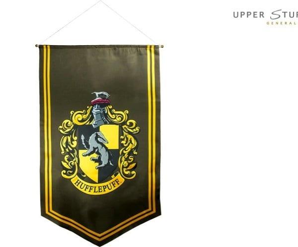 Harry Potter - Hufflepuff Satin Banner