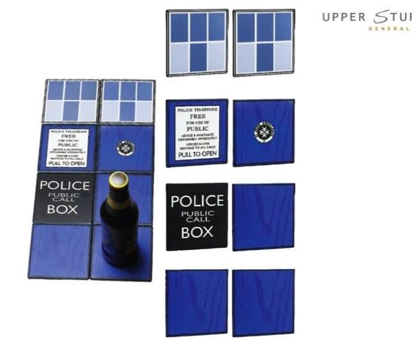 Doctor Who - TARDIS Ceramic Coasters Gift Set