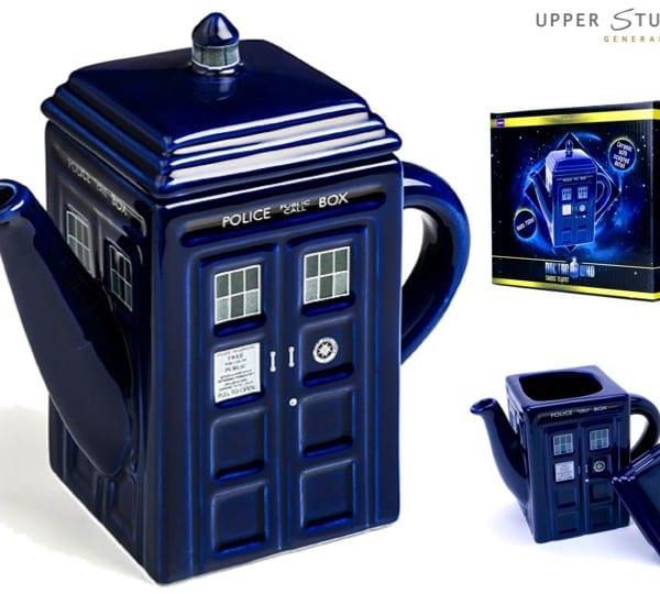 Dr Who - Tardis Teapot
