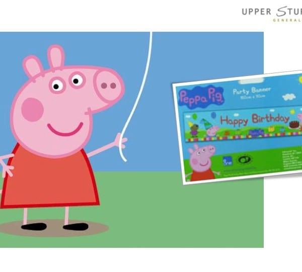 Banner - Peppa Pig