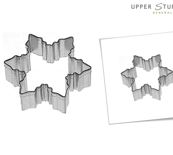Cookie Cutter Snowflake 7.5cm