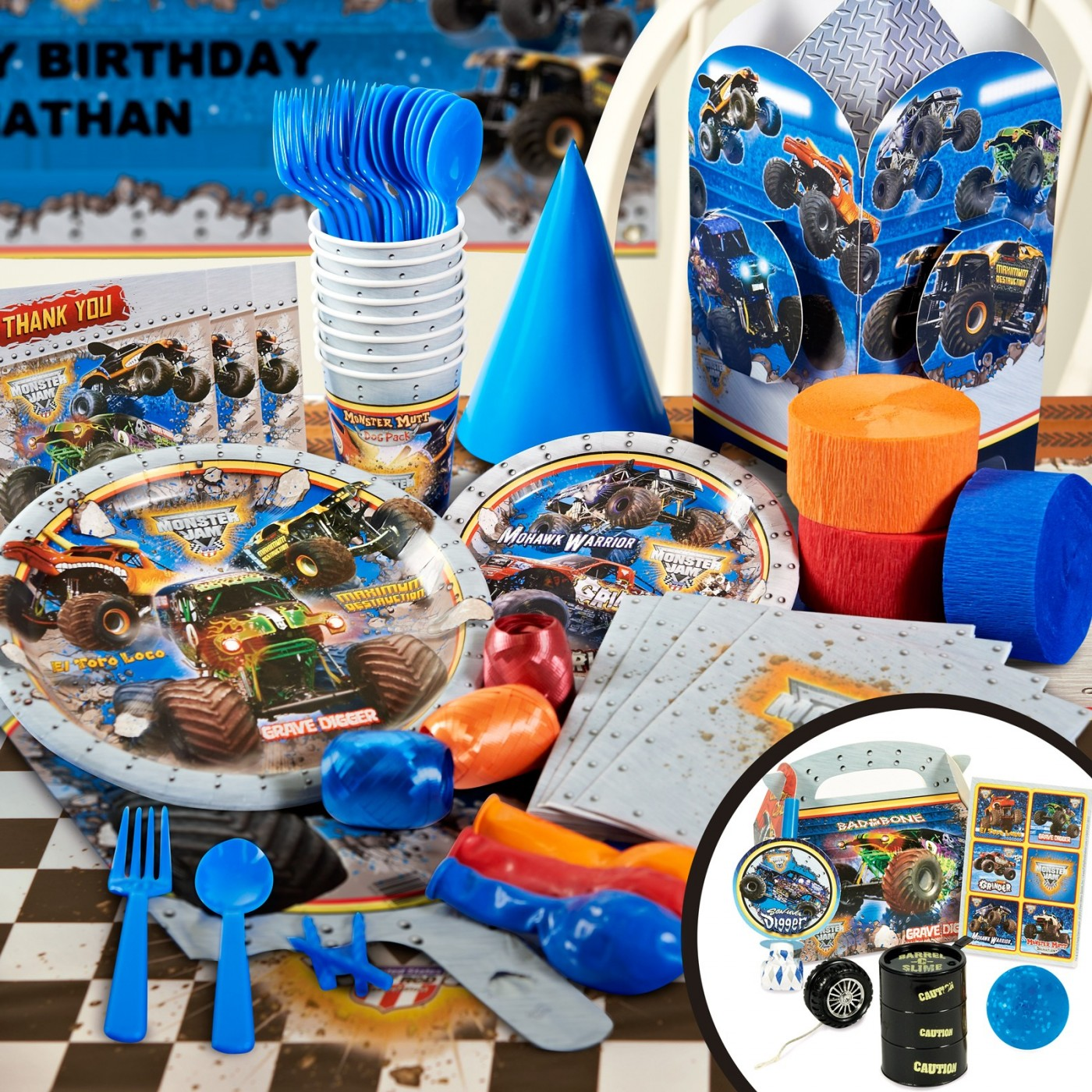 Monster Jam Party Supplies