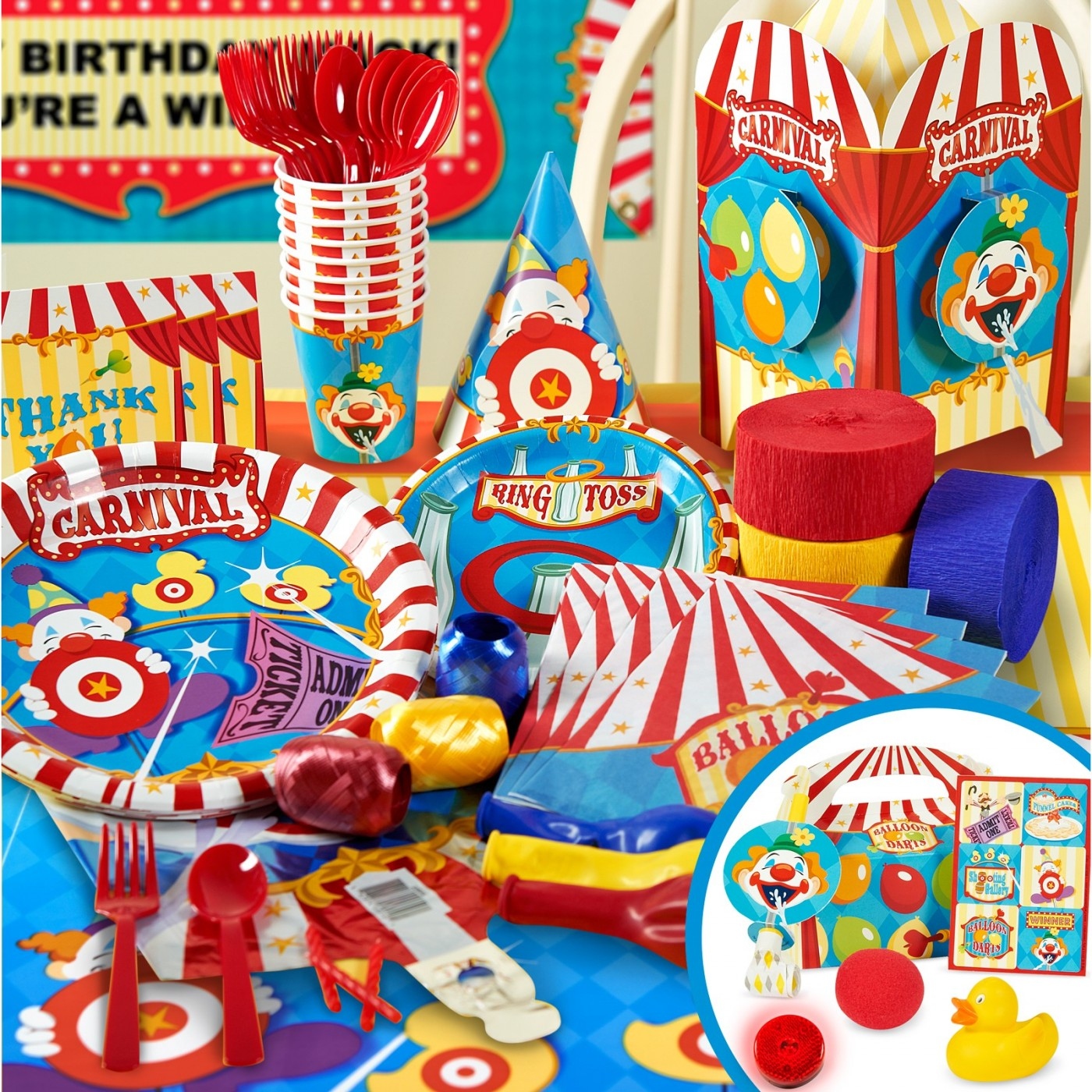 Carnival & Circus Party Theme