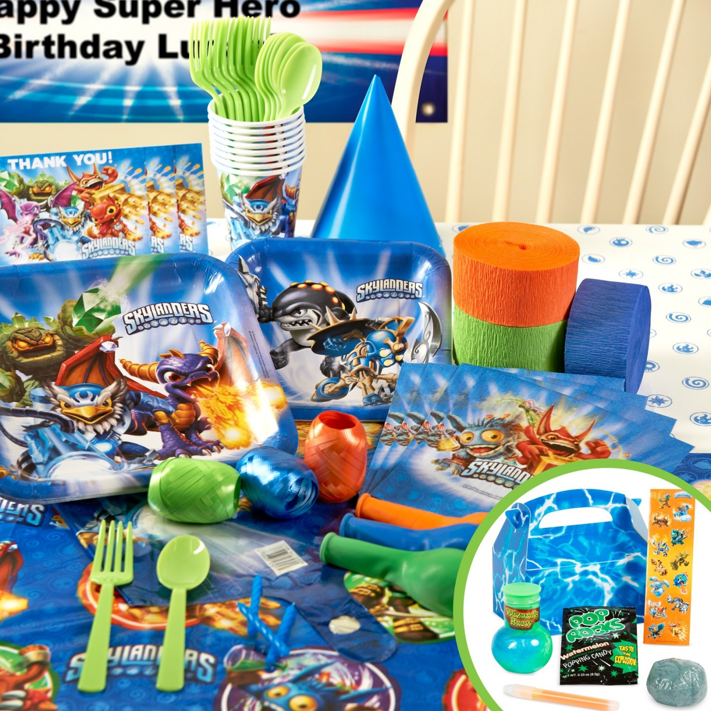 Skylanders Party Supplies