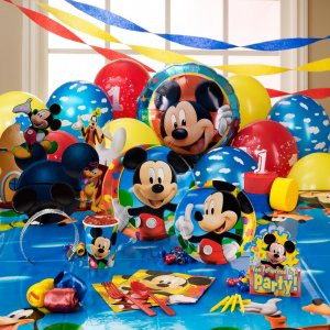 Mickey & Minnie Mouse Party Supplies