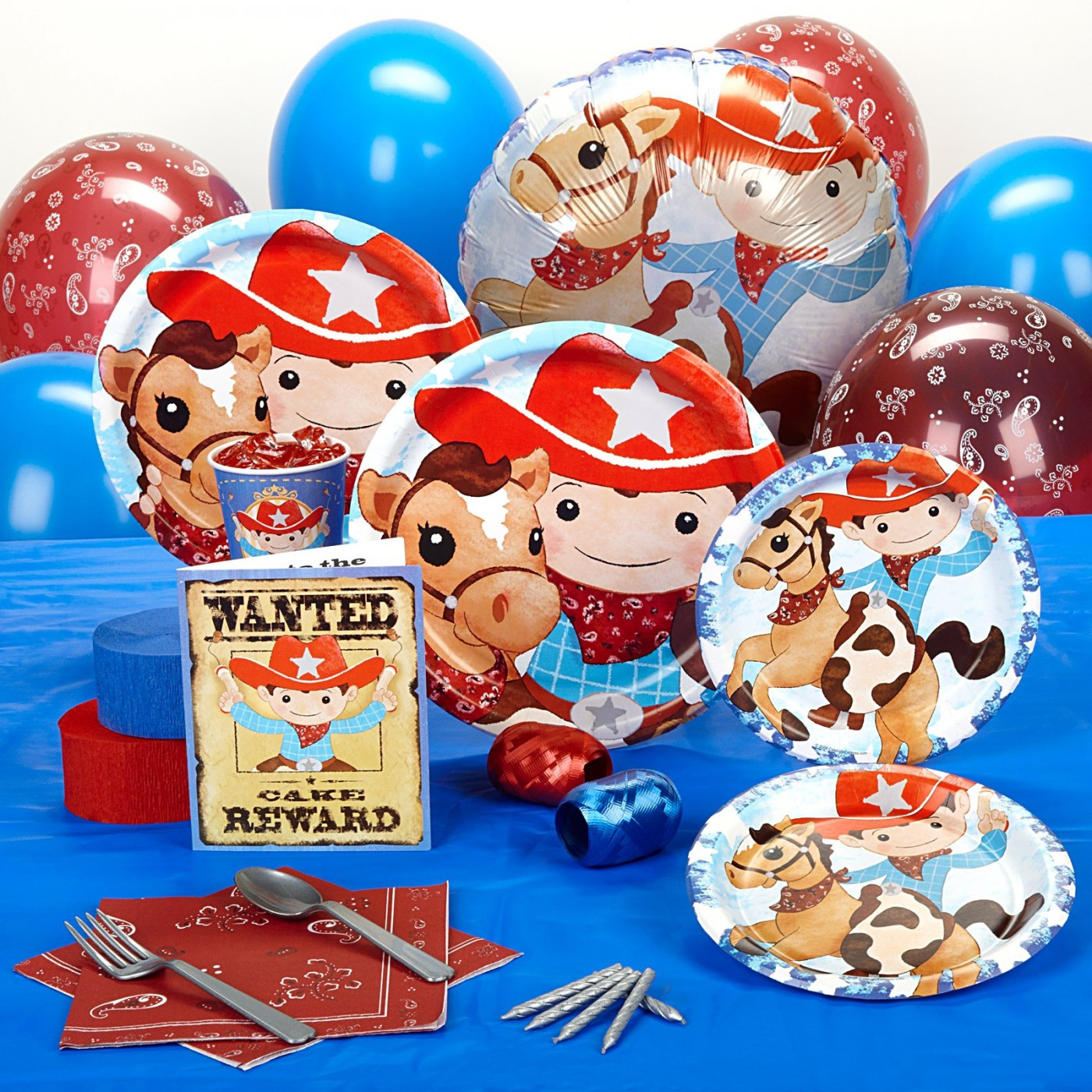 Cow Boys & Girls Party Supplies