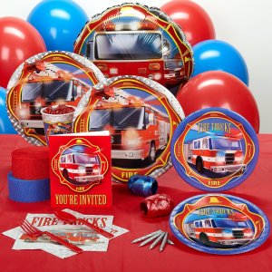 Fire Engine Party Supplies