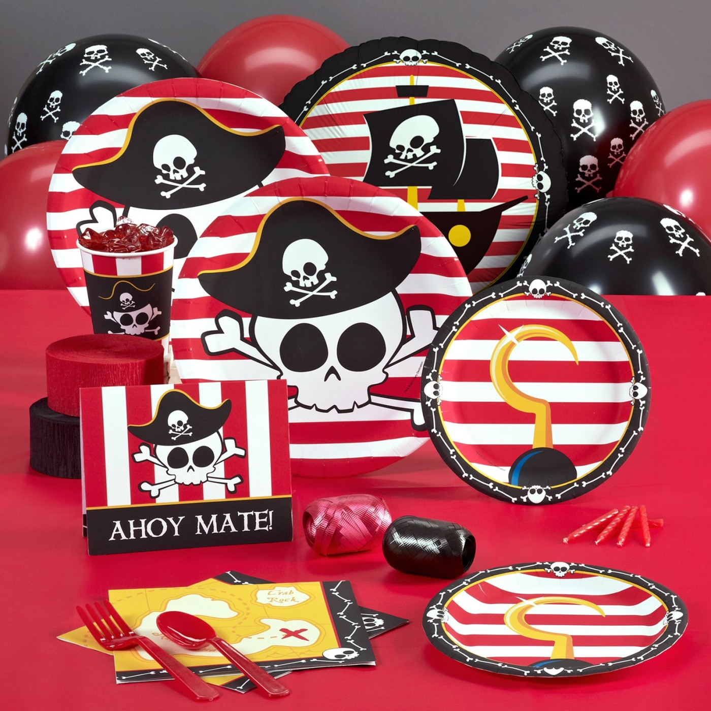 Pirate and Buccaneer Party Supplies