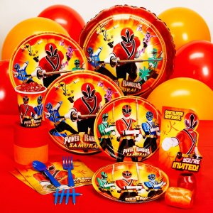 Power Rangers Party Supplies