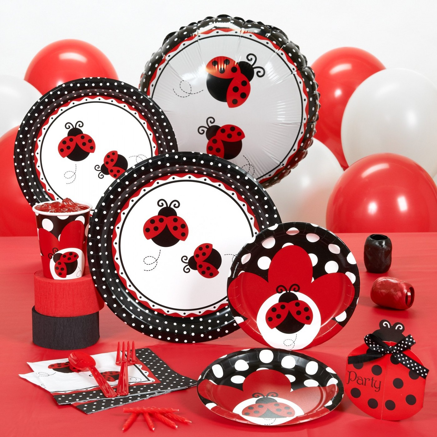Lady Bug Party Supplies
