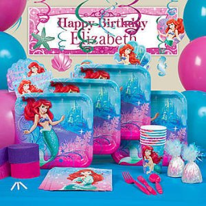 Ariel - The Little Mermaid Party Supplies