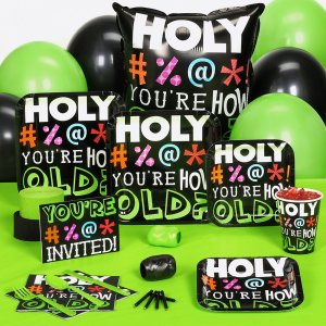 Age Birthday Party Supplies