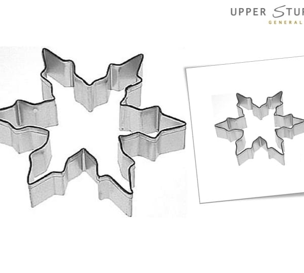 Cookie Cutter Snowflake 11cm Un-Packaged