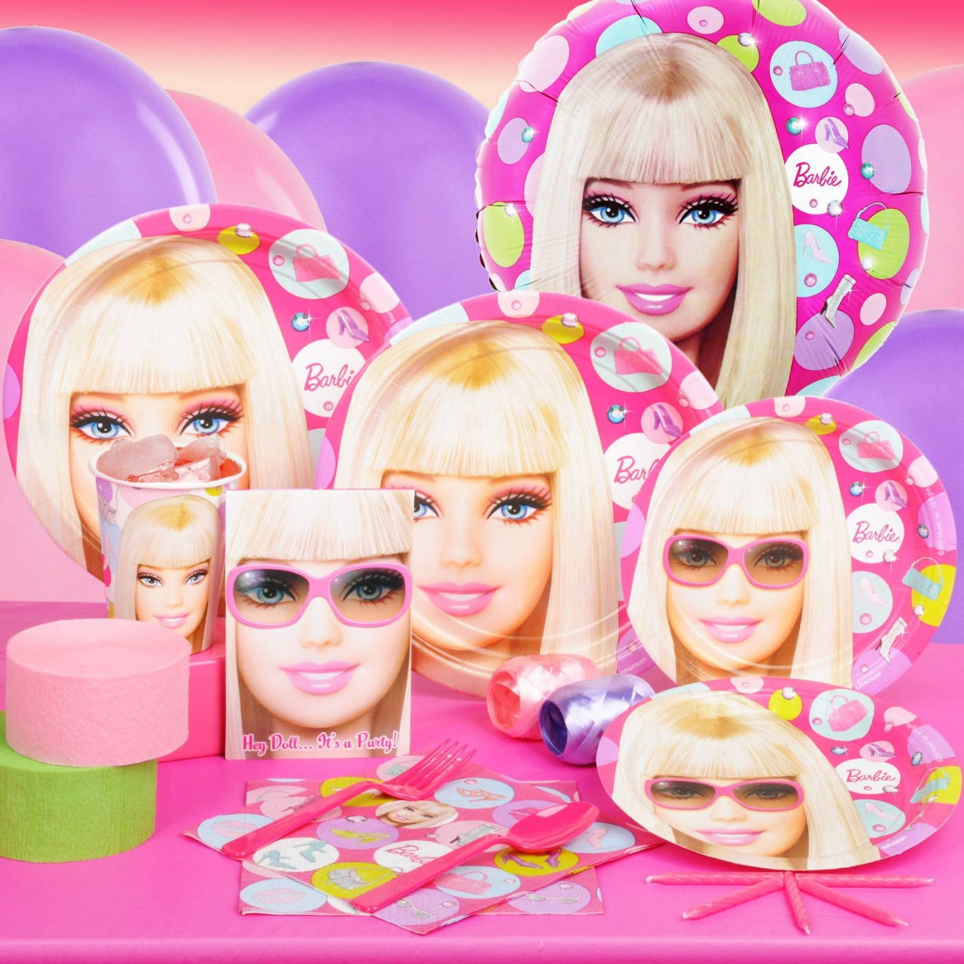 Barbie All Dolled Up Party Supplies