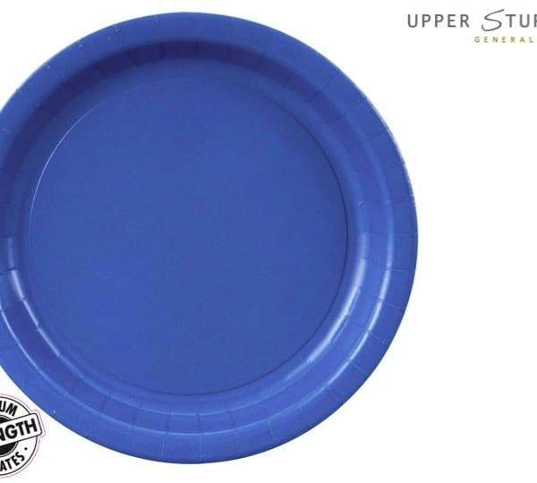 true blue paper dinner plates 24 pack upper sturt general store