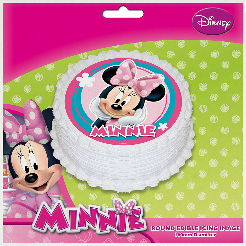 Minnie Mouse Edible Image 1 Piece Upper Sturt General Store