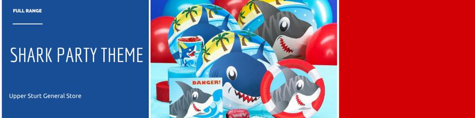SHARK PARTY THEME