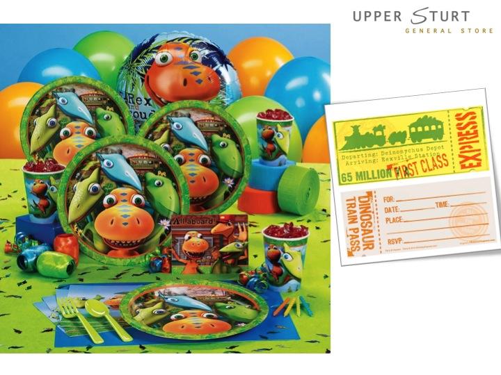 Dinosaur Train Invitations 8 Pack Upper Sturt General Store