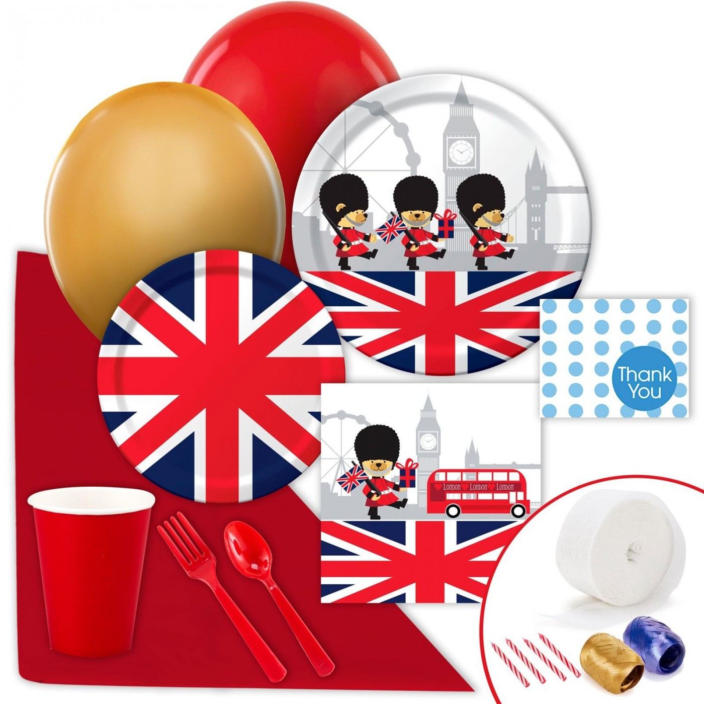 London Bear Party Supplies