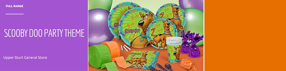 Scooby Doo PARTY THEME