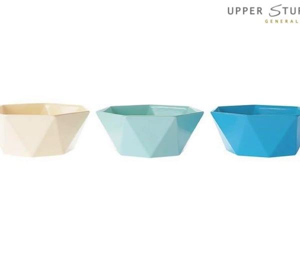 Yeddi Bowl - Cold Colours (3 asst)