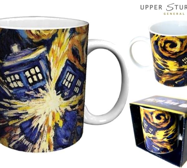 Doctor Who - TARDIS Van Gogh Coffee Mug