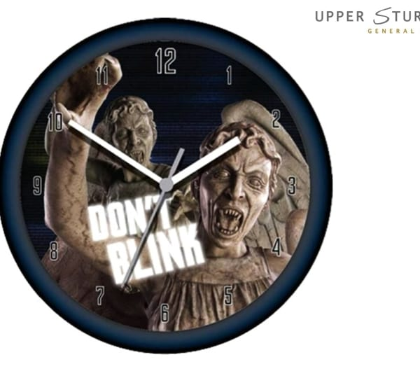 Doctor Who - Weeping Angel Lenticular Wall Clock