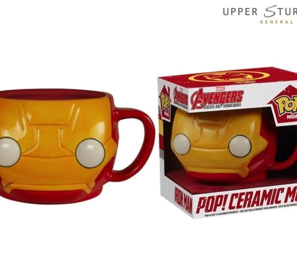 Pop! Home- Iron Man Pop! Ceramic Mug