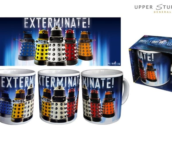 Doctor Who - Daleks Exterminate Coffee Mug