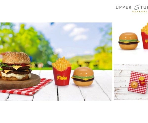 Burger Time Salt & Pepper Shaker Set