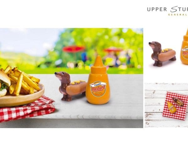 Hot Dog and Mustard Salt & Pepper Shaker Set