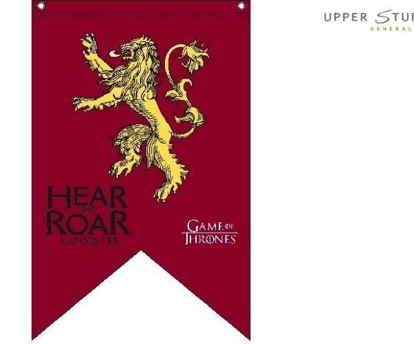 Game of Thrones Flag Lannister 90cm x 150cm