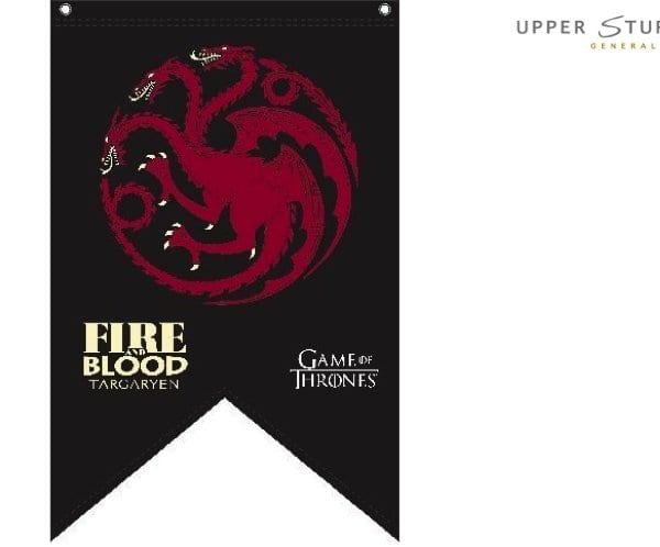 Game of Thrones Flag Targaryen 90cm x 150cm