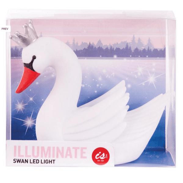 Illuminate Swan LED Light Pink or White 838310040153
