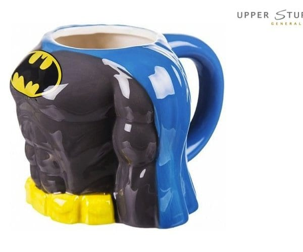Batman Chest Moulded Coffee Mug Ceramic