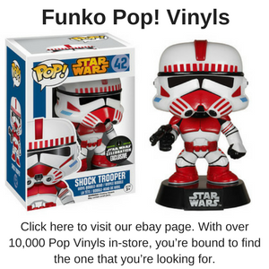 Click here to be taken to our massive ebay store, where you'll find a great range of Funko Pop Vinyls