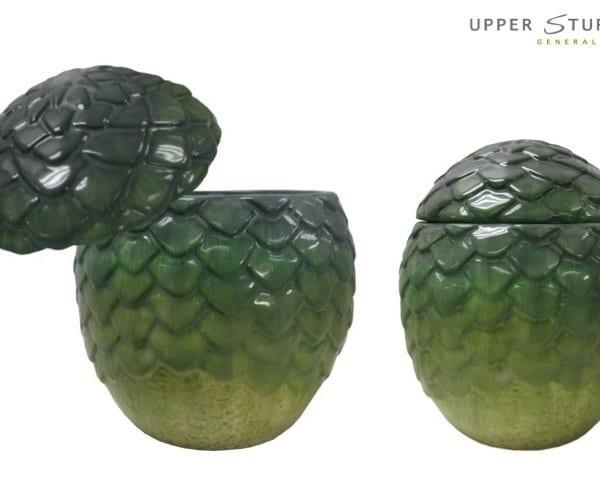 Game of Thrones - Dragon Egg Ceramic Jar Rhaegal (Green)