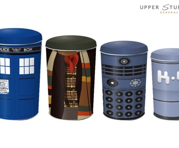Doctor Who - Cannisters 4-Pack