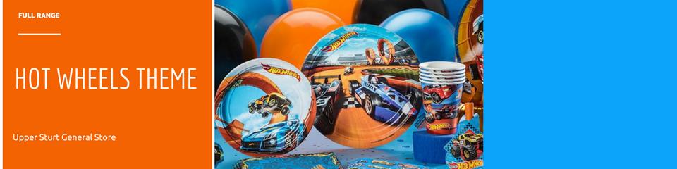 Hot Wheels Party Supplies Upper Sturt General Store