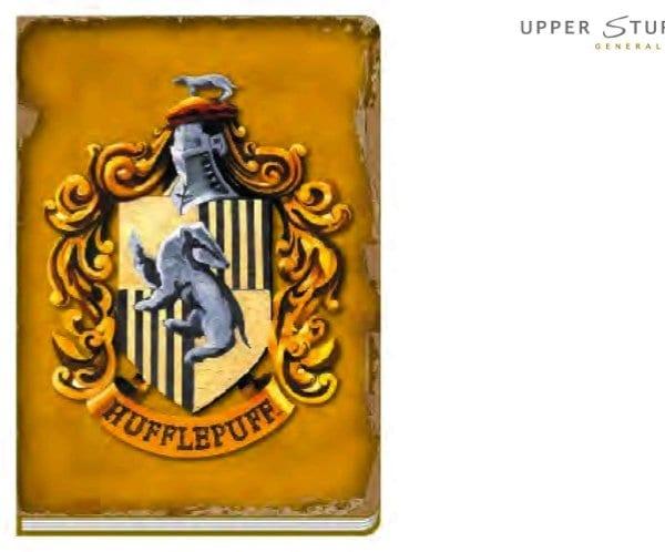 harry potter hufflepuff notebook-1-5055453446269