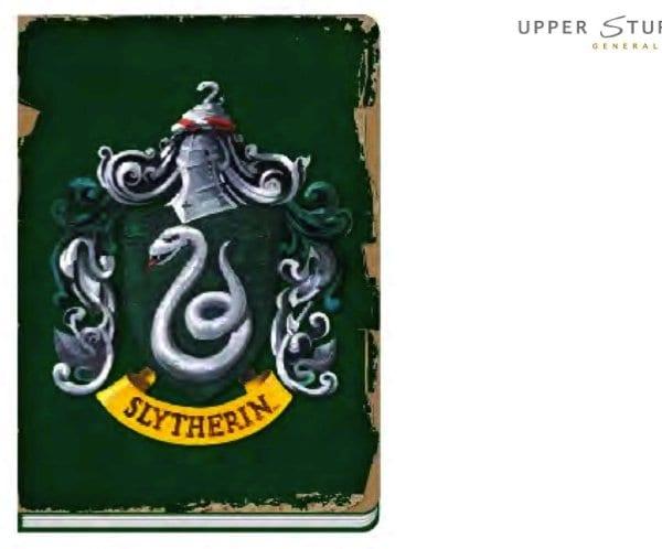 harry potter slytherin notebook 5055453446252