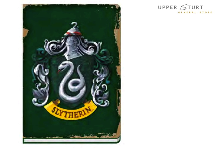 harry potter slytherin notebook 5055453446252