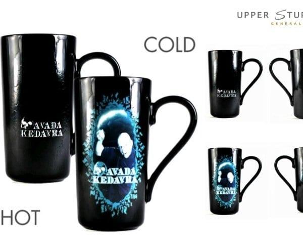 Harry Potter Voldemort Heat Changing Latte Mug 5055453449819